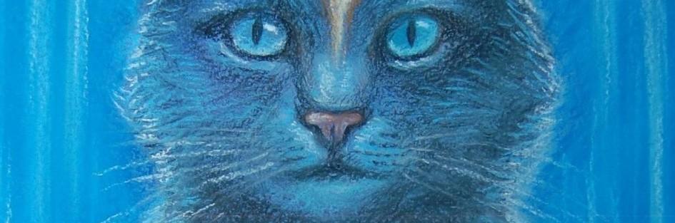 Рисуем кота в стиле виженари арт
